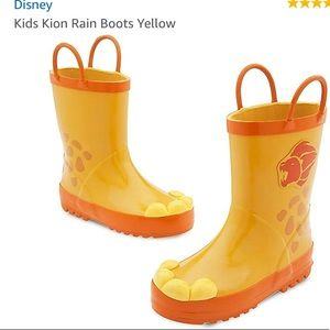 Disney Lion Guard Rain Boots ☔️